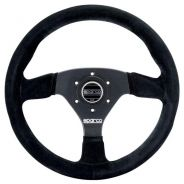 Sparco 383 Steering Wheel Black Suede - 330mm