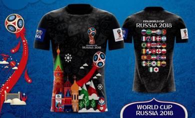 Custom Jersi Piala Dunia