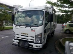 New isuzu nlr 77 uee