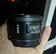 Sony 28mm f2.8 a-mount