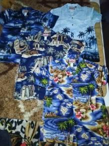 Baju kemaja hawaii