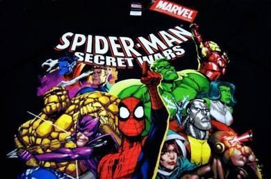 T Shirt MARVEL - Spiderman Secret Wars [L] NEW