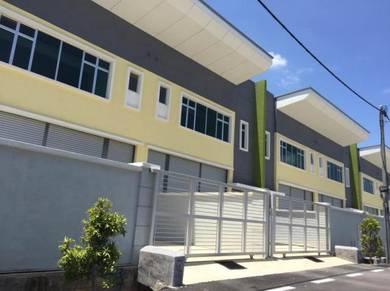 1.5 Storey warehouse, Upstair ready office (Near Taman Merdeka)
