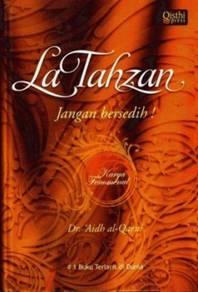 Buku LA TAHZAN Jangan Bersedih