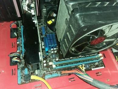 AMD Phenom II X3 710/ASUS M5A78M-LX V2 COMBO