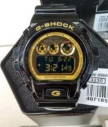 G-Shock DW-6900CB-1DS Black Gold Original