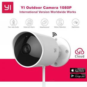 XIAOMI YI Outdoor Day & Night Wireless CCTV Camera