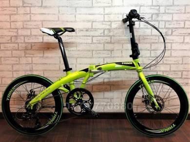 TRINX ITALY 7SPD 22INCH folding bike bicycle 12KG