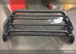 Steel roll bar with roof rack 4x4