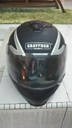 Helmet Grayfosh Flip Up Double Visor