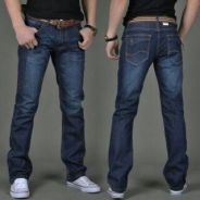 DRTS377 Men's Casual Straight Jeans Pants
