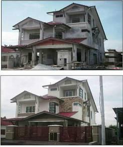 Tukang bina rumah kajang bangi puchong