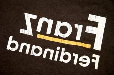 T Shirt FRANZ FERDINAND - Distressed Logo [XL] NEW