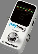 Tc Electronic Polytune 2 Mini Guitar Tuner