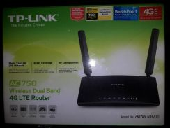 Tp-link 4g lte router ac750 mr200