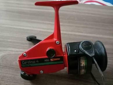 Spinning reel Abu cardinal C4 green