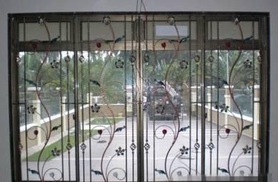 Pagar, awning, gril tingkap & pintu