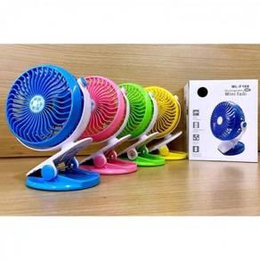 Mini Desk 360 Degree Clip Fan Rechargeable Q