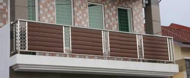 Stainless steel balcony handrail bf 21-22