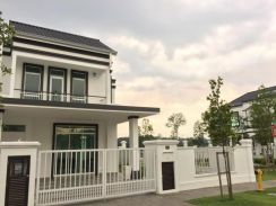 FREEHOLD END LOT Terrace House Eco Majestic Semenyih Selangor