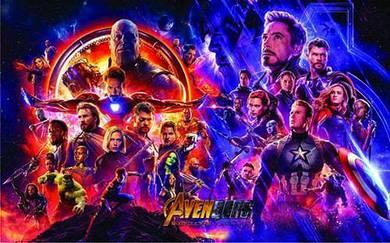 Poster avengers endgame 9