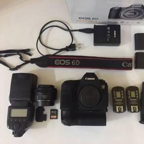 Canon 6D fullset