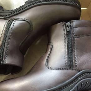 Kasut Safety boot berzip OlympissPolo