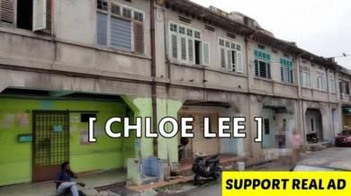 2- Storey 4 Adjoining Units Heritage Shop House at Chulia Lane