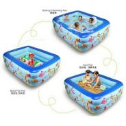 Inflatable 3 Rings Swimming Pool For Kids