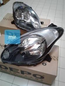 Lampu Depan Myvi se2 Smoke headlamp baru sepasang