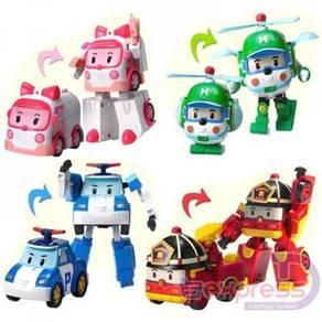 Set of 4 robocar poli 07