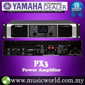 Yamaha px3 2-channel power amplifier 500w with eq
