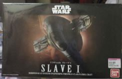 SW 1/44 Mo-Kit scale Slave 1 Bandai