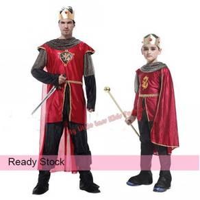 Kids Adult Halloween Lord Prince Noble King