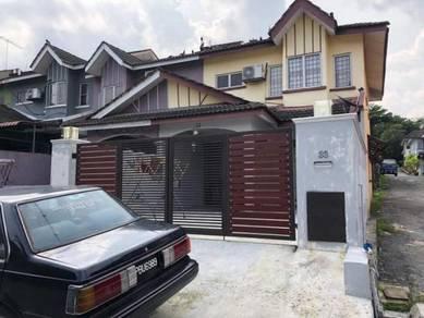 (END LOT + RENOVATED ) 2 Storey House, Rawang Perdana, Rawang