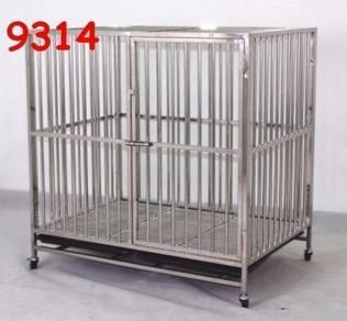 Stainless Steel dog cage BESAR dan BARU