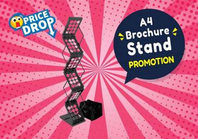 Brochure Stand / Display / Table Stand / Bunting