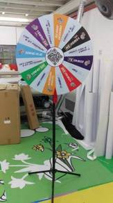Fortune Wheel Stand / Display Stand / Lucky Draw