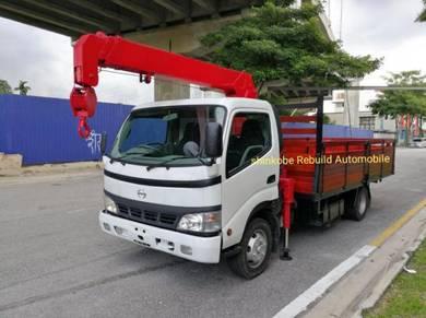 Hino Lorry Crane/ Fuso/ Nissan/ Isuzu Lorry Crane
