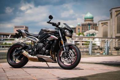 2017 Triumph Street Triple 765 RS