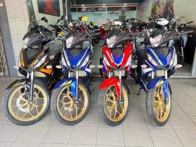 Honda RS150 V2(d/p 500) fast loan READY STOCK