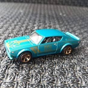 Hotwheels Blue Nissan Skyline Kenmeri