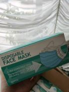 Face mask 3ply construction