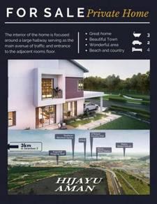 Rumah Teres 2 Tingkat, Seremban. HARI RAYA 2020