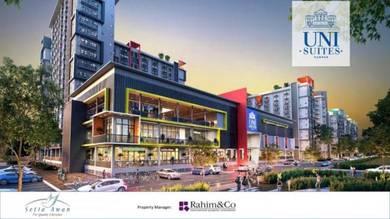 Best investment fully furnish 2rooms suites near UTAR kampar