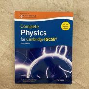 Complete Physics for Cambridge IGCSE Student Book