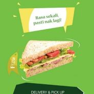 Sandwich padu Mashie Kitchen