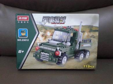 Brick Army Lorry 23012 Jie-Star