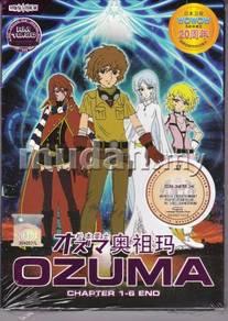 DVD ANIME OZUMA Vol.1-6End OZMA Complete TV Series