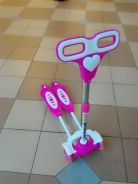 Pink scooter mainan toys offer jb8